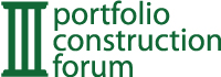 PortfolioConstruction Forum Logo